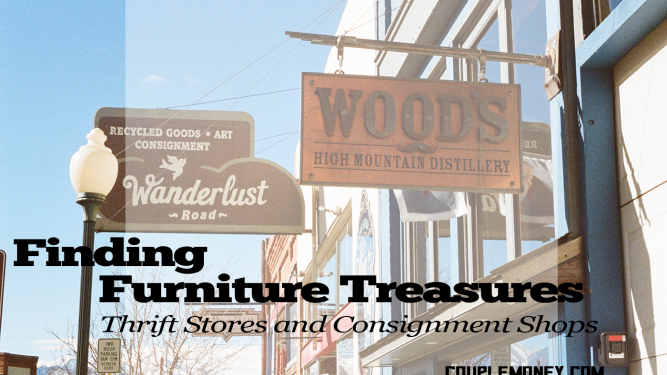 Master the art of frugal furnishings using consignment shops and thrift stores.
