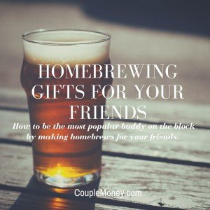 One of the most frugal gifts you can give is a specially made homebrew beer for your friends and family.