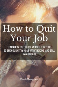 """Ready to quit your job and start your own business? Steve Chou, Founder of My Wife Quit Her Job and co-founder of Bumblebee Linens, shares how you can build a business from home. <div class=""""smart-track-player  stp-color-60b86c"""" data-url=""""""""http://traffic.libsyn.com/couplemoney/CM_S3E2_How_to_Quit_Your_Job_and_Still_Make_Money.mp3"""""""" data-download=""""true"""" data-color=""""60b86c"""" data-paid=""""true""""  data-social=""""""""true""""""""  data-social_twitter=""""""""true""""""""  data-social_facebook=""""""""true""""""""  data-social_gplus=""""""""true"""""""" data-speedcontrol=""""true"""" data-get=""""true"""" data-uid=""""xSY2YUCq"""" data-download_id=""""53d727682bed06c21983dbcd891a0d22"""" ></div> Starting a Business from Home"""