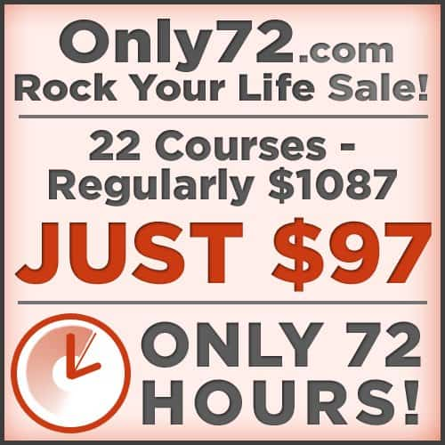 rock your life sale 72 hours only