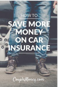 Save big on your car insurance premiums with these five tips.