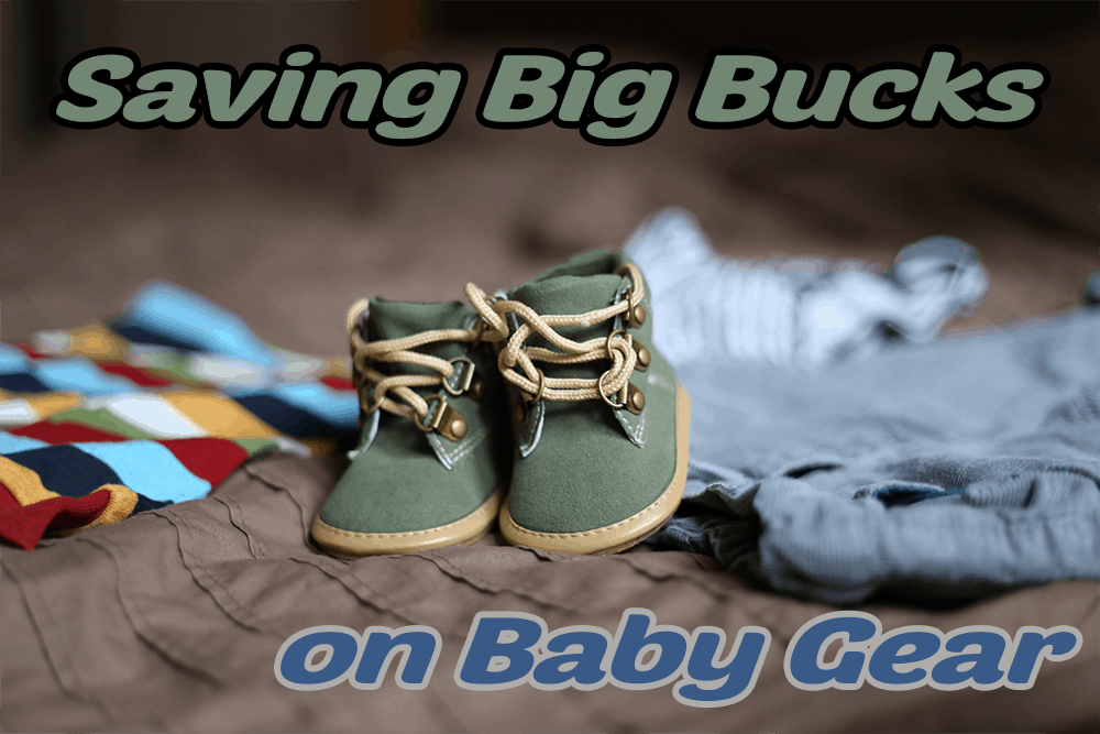 save money baby gear clothes