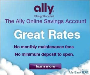 ally bank online savings account