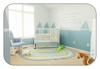 Decorating the Baby Nursery – Biggest Bang for your Buck