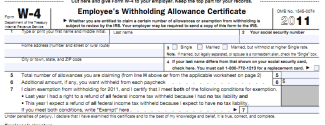 Post image for Get More Money in Your Paycheck: Calculate Your W-4 Withholding