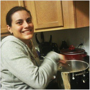 I'm tired and I look like a mess, but I'm happy because I'm brewing!