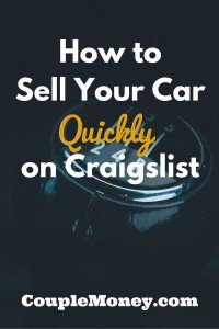 Learn how to properly prep and sell your car quickly on Craigslist. We had a cash buyer make an offer inside of a week.