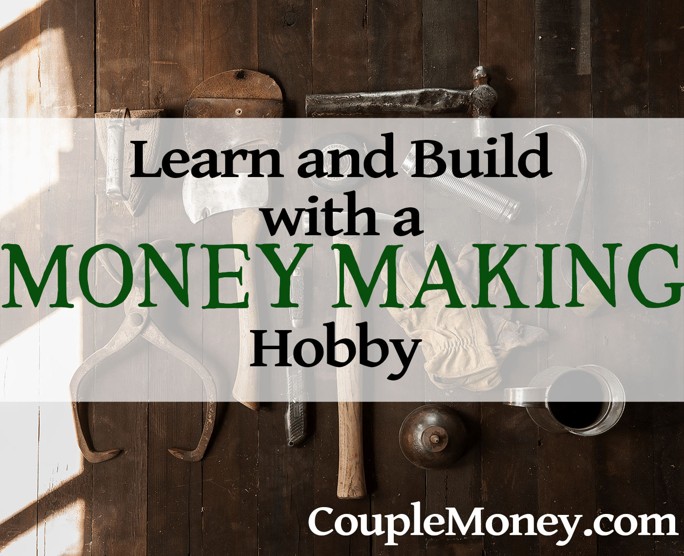 Learn how you can make money with these three easy and fun hobbies.