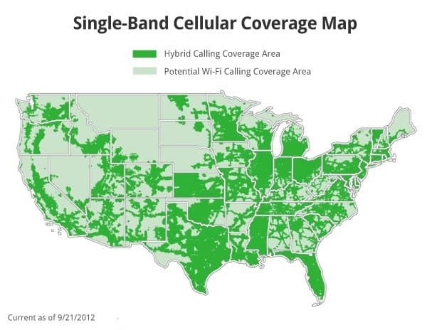 republic wireless unlimted cell phone plan coverage