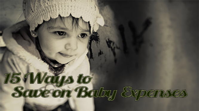 How to save big on baby expenses
