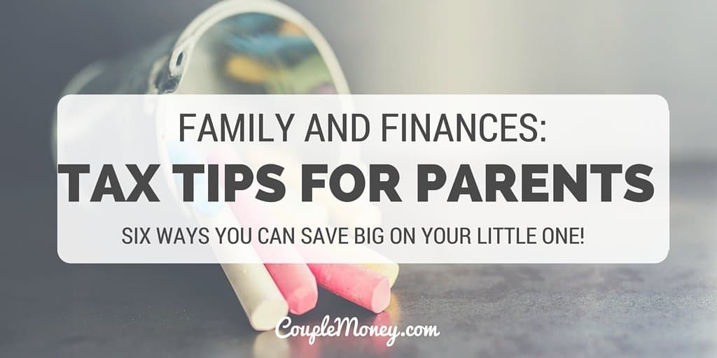 tax tips for parents couple money